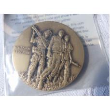 Harley Davidson Vietnam Veteran - Eagle Brass Challenge Coin