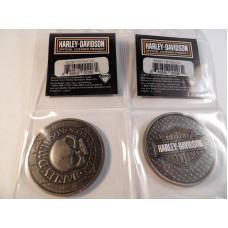Harley Davidson Challenge Willie G Skull Coin