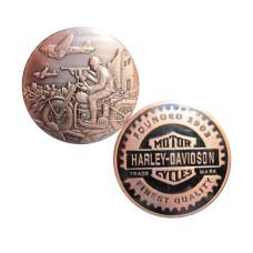Harley Davidson Commemorative Coin - War