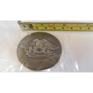 Harley Davidson HOG Challenge Bar & Shield Brass Coin