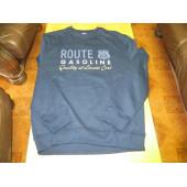 Pánská mikina, Gasoline Route 66, modrá, vel. L
