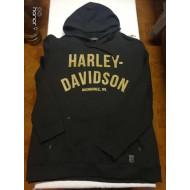 Harley-Davidson Men's Shovelhead Sweatshirt, Black, 96602-19VM, Large