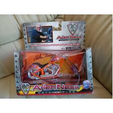 Diecast Motorcycle Model Arlen Ness, 1:18