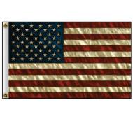 Velká vlajka USA s patinou 150x90cm - vysoká kvalita
