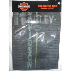 "Harley Davidson Garden Flag 12.5"" X 18"" banner Reasons to Ride"