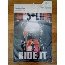 Dekorační vlajka Harley Davidson Ride It