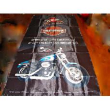 Harley Davidson Sportster 1200 Custom Flag
