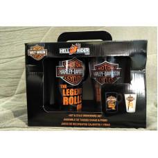 2pcs Harley Davidson Hot and Cold Set Cups