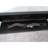 """Harley-Davidson Double Curb Link Bracelet HSB0141 7,5"""""""