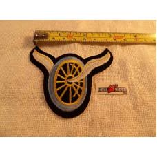 "Harley Flying wheel Patch - 3"""
