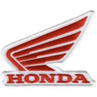 Nášivka motocykly Honda - vertikální 10x7,5cm PPH1114