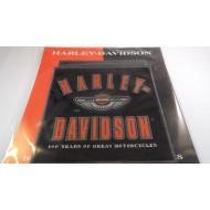 2003 Harley Davidson hranatá nášivka 100. výročí 15x15cm 97979-03V