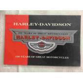 Harley-Davidson 100th Aniversary,  Emblem Patch