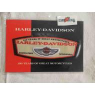 "Harley-Davidson 100th Aniversary,  Emblem Patch, 7,2"" x 2,6"" 97981-03V"