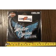 Harley--Davidson Embellished Pure Freedom Emblem Patch, 4.5 x 3.1875 in. EM335412