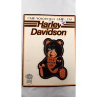 Harley Davidson malá nášivka 70. léta I'm Harley Kid 9cm