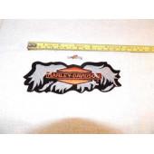 "Harley Davidson Broken Wings Patch 6"""
