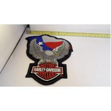 Harley-Davidson Texas Flag Eagle  XL Patch