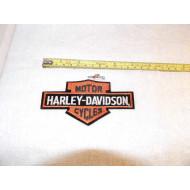 Nášivka Harley Davidson staré logo H-D  12,5 cm