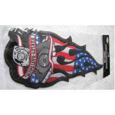 Harley Davidson Large Sleeve Patch