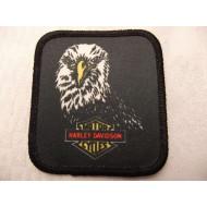 Harley Davidson nášivka - hlava orla 70. léta