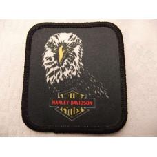 Harley Davidson eagle head patch 70's