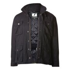Černá kevlarová bunda John Doe Kamikaze 5XL