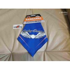 Harley Davidson bandana for Dog, Blue