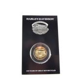 Harley Davidson 100. výročí sada mince a odznáček Kansas City