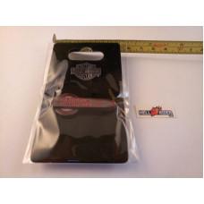 Harley Davidson metal, Gas Tank Emblem Pin, Glitter Red, 1.5 x 0.5