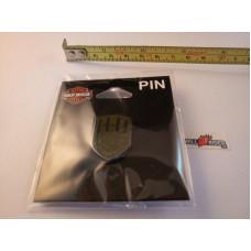 Harley Davidson metal, Badge Olive H-D Motorcycles Pin