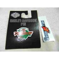 Harley Davidson - odznak aligátor Renegade Alexandria, LA