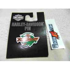 Harley Davodson Aligator Renegade Alexandria, LA Pin
