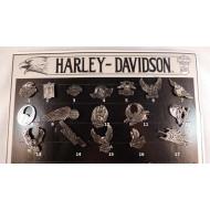 Odznáček Harley-Davidson 80.léta - výběr z 17-ti druhů