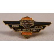 Odznáček Harley Davidson MDA 25. výročí 2005