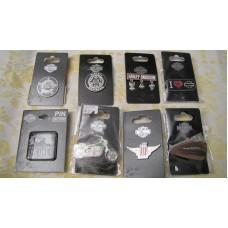 Harley Davidson Pins - choice from 8 options