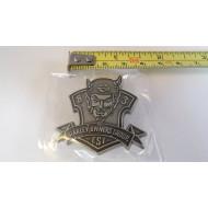 Harley Davidson odznáček HOG Skull Rebel
