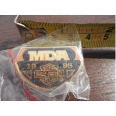Odznáček Harley Davidson MDA 1998
