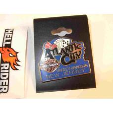 Harley Davidson Pin Atlantic City