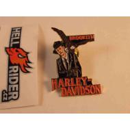 Harley Davidson Pin Brooklyn