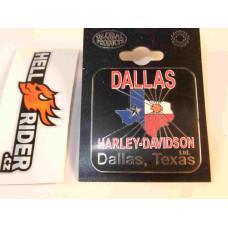Harley Davidson Pin Dallas