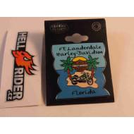 Harley Davidson Pin  Ft Lauderdale Florida