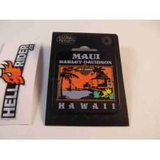 Harley Davidson Pin Maui Hawaii