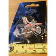 Harley Davidson - Fly Girl Bike Pin