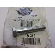 "Harley-Davidson šroub 3/8""-24 x 2-1/4"" hex head #3945"