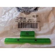 Harley-Davidson zelená sklíčka na přístrojovku 71150-92