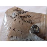 "Harley-Davidson matice lock nut, 1/4""-28 x 3/16"" (7/32"") x 7/16"" #7676"