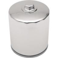 Chromový magnetický olejový filtr s matkou pro Harley-Davidson Electra, Road King, Softail, Dyna 63798-99