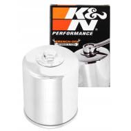 K&N KN-174C Chrome Wrench Off Oil Filter for Harley Davidson VRSC V-Rod