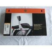 Držák (upevnění) opěrky kit Harley Davidson Sportster XL od 2004 pro spolujezdce chrom, 52300116